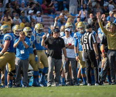 UCLA football salutes seniors before season finale against Stanford
