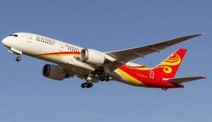 China's private Hainan Airlines to launch over 10 international flights in 2017