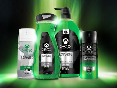 Prove you're not a filthy casual with new Xbox-branded Lynx hygiene products