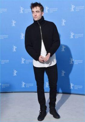 Robert Pattinson Makes a Black & White Statement in Dior Homme