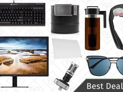 Thursday's Best Deals: Ratchet Belts, Electric Massagers, 4K Monitor, and More