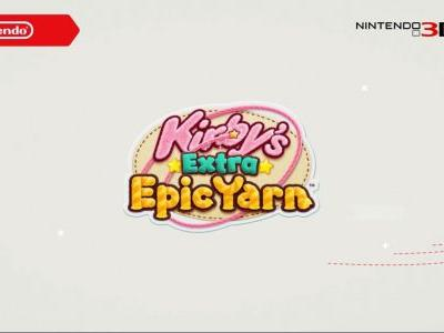 Kirby's Extra Epic Yarn Coming to 3DS Next Year