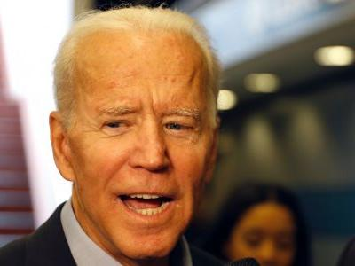 Joe Biden has already built up a big advantage over his 2020 rivals in the first day of his campaign