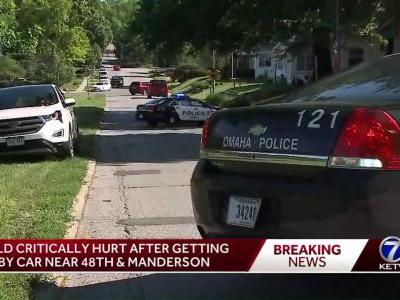 9-year-old in critical condition after being hit by car