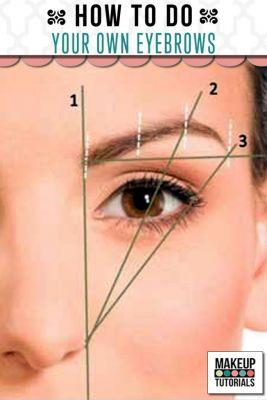 How To Do Your Own Eyebrows Like A Pro   Makeup Tutorials