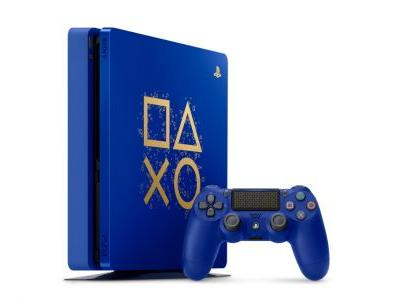 Limited Edition Blue And Gold PS4 Announced