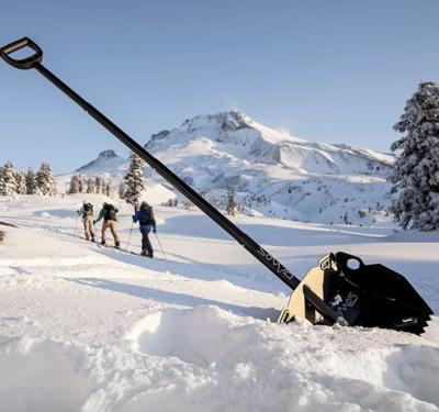 This might be the best snow shovel ever made since it's basically indestructible and collapsible