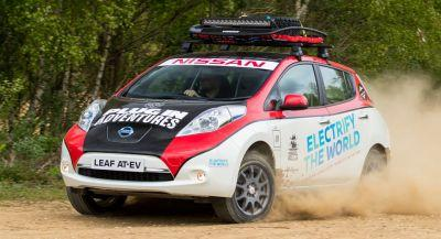 Nissan Leaf All-Terrain EV Charges Up For Mongol Rally