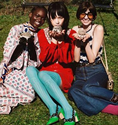 Gucci's new campaign features more extremely cute animals