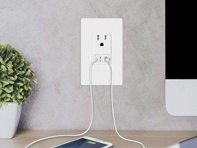 Topgreener's outlet sale adds direct charging ports to every wall