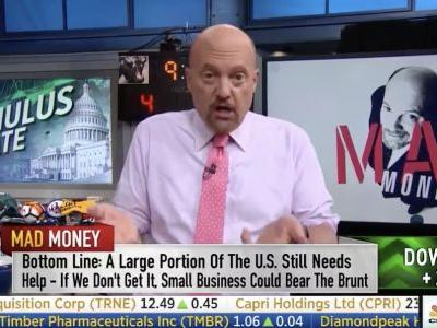 Trump Scolds Jim Cramer After CNBC Host Publicly Apologizes for 'Crazy Nancy' Comment: 'No Pandering!'