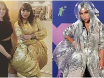 Arshi Khan copies Lady Gaga's 2020 VMAs dress for Bigg Boss 14 finale, gets trolled