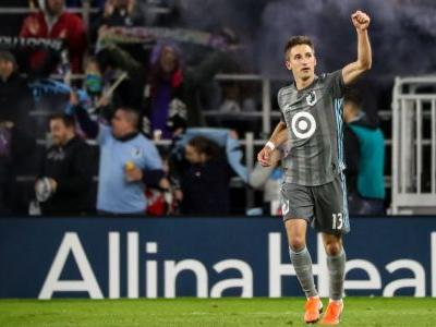 Finlay scores to give Minnesota 1-0 win over Crew