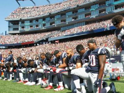 NFL national anthem protests: Steelers skip anthem, many players elsewhere kneel in solidarity