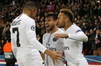 PSG beats Liverpool 2-1 to get qualification back on track