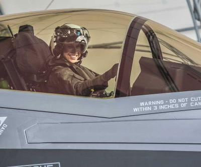 'Exhilarating experience': This woman is the 1st female Marine to pilot the F-35B combat jet