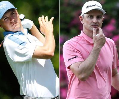 It was a forgettable day for Jordan Spieth and Justin Rose