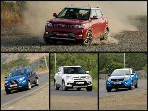 Maruti Brezza Vs Tata Nexon Vs Ford EcoSport Performance Compared
