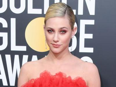 Lili Reinhart Stuns In Red At The 2019 Golden Globes