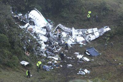 Few survive after plane carrying Brazilian soccer team crashes