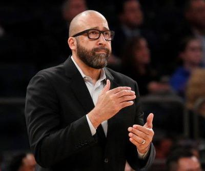 David Fizdale 'not feeling' heat from Knicks brass with future in doubt