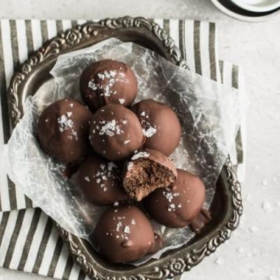 Paleo Double Chocolate Cookie Drops