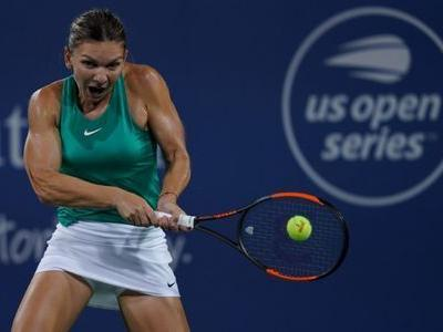Halep through but Stephens exits in Cincinnati
