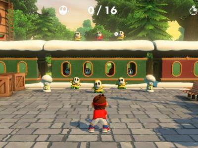 Controls and Basic Button Configuration in Mario Tennis Aces