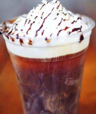 Cool Off with a Cold Brew Ice Cream Float at Press Waffle Co