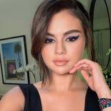 Selena Gomez and Glittery Purple Eye Shadow Are Clearly a Match Made in Heaven