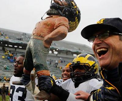 Michigan and Jim Harbaugh get win they desperately needed