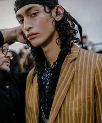 Ann Demeulemeester AW19 channelled the youthful rebellion of rock