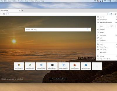 Microsoft Launches First Microsoft Edge Preview Builds for Mac Users