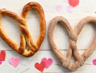 This Auntie Anne's BOGO Heart-Shaped Valentine's Day Pretzel Deal Will Make Your Mouth Water