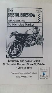 Bristol Bike Show - this Saturday - 18th August