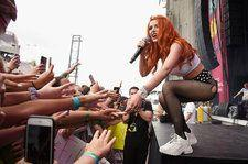 Bella Thorne Brings All Her Friends to Wild, Neon-Splashed Billboard Hot 100 Fest Set