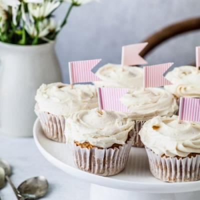 Chai Cupcakes Honey Buttercream