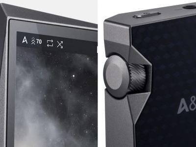 I'm in love with Astell&Kern's crooked, beautiful, ridiculously expensive MP3 player
