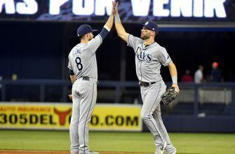Meadows Homer Sends Rays Past Yankees in Extras