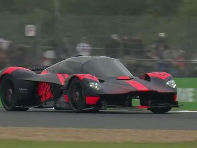 Here's Your First Chance To See And Hear The Aston Martin Valkyrie