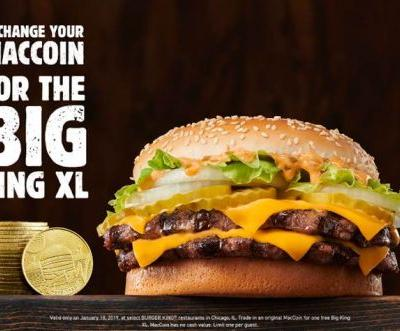 Burger King Is Offering Free Big King XL Sandwiches On Grubhub & With Expired MacCoins