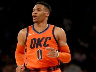 Russell Westbrook on triple-double mark: 'An unbelievable moment'