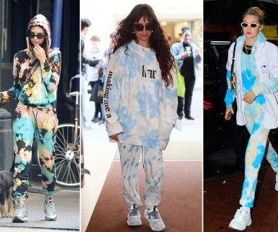 Tie-dye sweats are new celebrity-approved work-from-home uniform