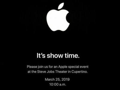 "Liveblog: Apple unveils its TV service and more at the March 25 ""It's show time"" event"