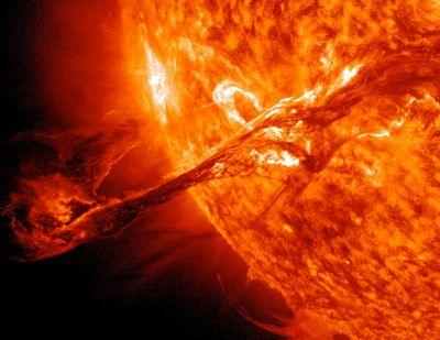 Scientist says the sun is sneezing on Earth