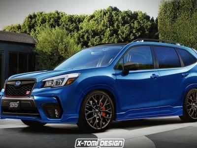 Dear Subaru: Please Make This Imaginary Forester STI A Reality