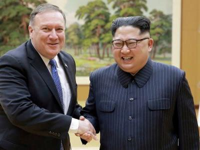 Mike Pompeo reportedly joked he was still trying to kill Kim Jong Un on first meeting him