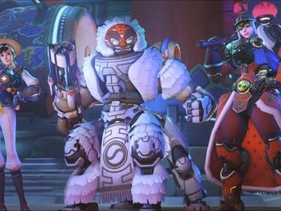 Check Out These Overwatch Skins From The Lunar New Year Event