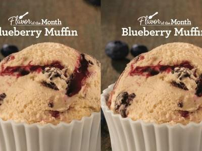 Baskin-Robbins' Blueberry Muffin Ice Cream For March 2019 Is A Sweet Start To Spring