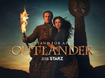 New Sam Heughan and Catriona Balfe Interview with 'Parade'
